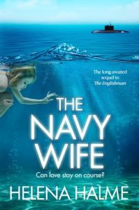 Cover of The Navy Wife by Helena Halme