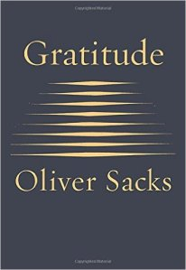 Cover of Gratitude by Oliver Sacks