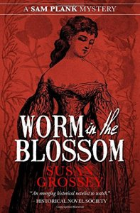 Cover of Worm in the Blossom by Susan Grossey