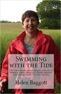 Cover of Swimming with the Tide by Helen Baggott