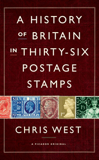 Postage stamps uk book